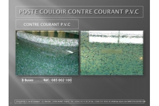 Photo : COULOIR DE NAGE CONTRE COURANT