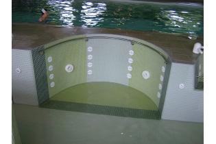 Photo : PISCINE : ANIMATIONS HYDROMASSANTES