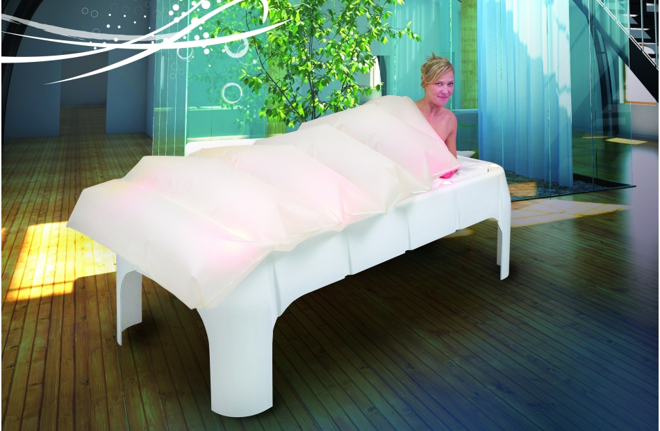 enveloppement lit de relaxation matelas d 39 eau. Black Bedroom Furniture Sets. Home Design Ideas