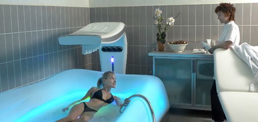Real test of a professional hydrotherapy equipment
